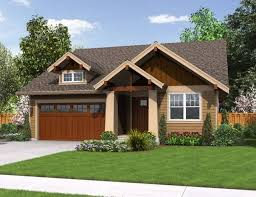 nice simple design of the craftsman houses interiors that has nice simple design of the craftsman houses interiors that has wooden garage door can add the beauty inside the house with green grass in front of the house