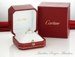 verlobungsringe cartier cartier ring solitär 1895 diamant brillant platin 950 n4163600