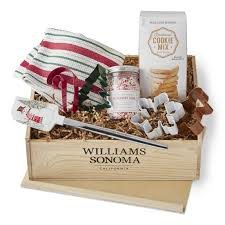 cookie gift basket cookie gift crate williams sonoma