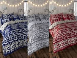 Duvet Quilt Cover Christmas Bedspread On The Hunt