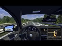 mod car game euro truck simulator 2 euro truck simulator 2 bmw x6 car mod youtube