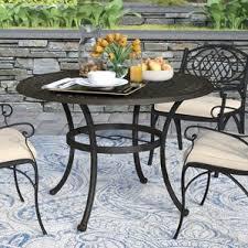 Bistro Patio Tables Outdoor Bistro Tables You U0027ll Love Wayfair