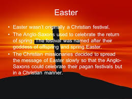 the meaning of easter ppt