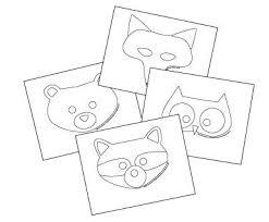 20 best animal masks images on pinterest animal masks mask