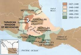 aztec map of mexico aztec expansionism