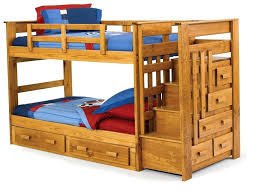 Bunk Bed Stairs With Drawers Bunk Bed Plans With Stairs And Slide Only Images