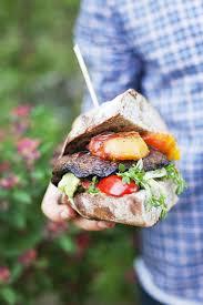 Green Kitchen Storeis - green kitchen stories u0027 peach portobello burger u2013 design sponge