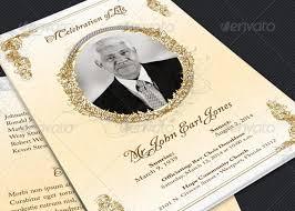 template for a funeral program funeral program template inspiks market