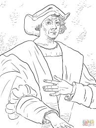 christopher columbus coloring pages fablesfromthefriends com