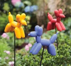 decorative garden stakes garden and lawn inspiration 12452