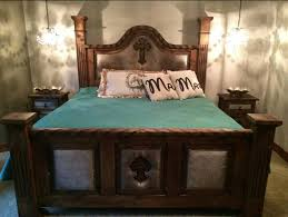 Best Rustic Western Bedroom Images On Pinterest Western - Cowhide bedroom furniture