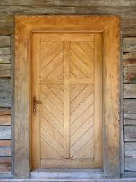 Wooden Door Wooden Door And Wood Planks Wall Download Free Textures