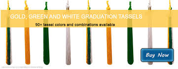 graduation tassel colors gold green and white tassels from honors graduation