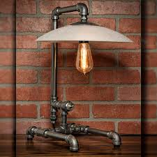 practical industrial table lamp modern wall sconces and bed ideas