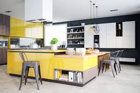 modern kitchen design yellow modern kitchen design ideas