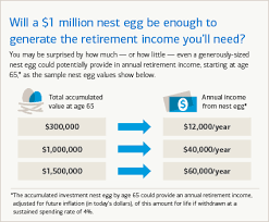 How Much Do I Need For A Comfortable Retirement Is 1 Million Enough For You To Retire On