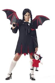 Vampire Halloween Costumes Girls Vampire Bat Teen Costume Ebay