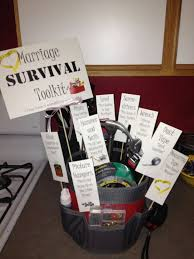 wedding gift kits 17 best images about bridal shower gift on survival