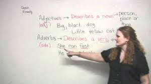 Identifying Adverbs And Adjectives Worksheets English Grammar Adjectives U0026 Adverbs Youtube