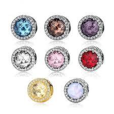 sterling silver beads pandora bracelet images Crystal 925 sterling silver beads for jewelry making fit original jpg