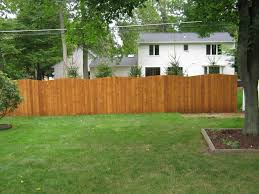 fence backyard ideas staining wood fence ideas u2014 bitdigest design