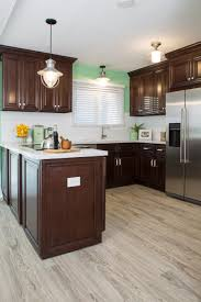 Laminate Flooring Dark Wood Kitchen Design Sensational Laminate Tile Flooring Kitchen Best