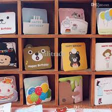 greeting cards wholesale creative card small greeting card with animal children s