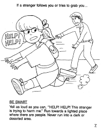 free printable summer safety coloring pages kids safety coloring