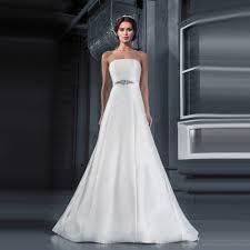plain wedding dresses get cheap plain strapless wedding dresses aliexpress