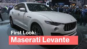 maserati bentley maserati levante unveiled a 76 000 v6 suv to challenge bentley