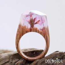 wooden finger rings images Miniature worlds crafted inside wooden rings by secret wood jpg