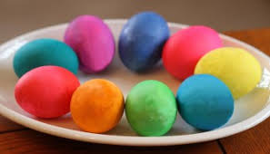 Coloring Eggs Red Eggs Dyed For Greek Easter Festibrate