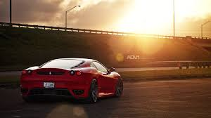 cars ferrari adv 1 exotic cars ferrari f430 parking lot red roads sports