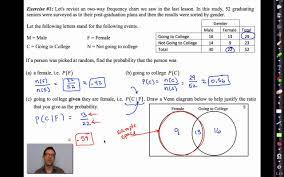common core algebra ii unit 12 lesson 4 conditional probability