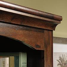 Sauder Harbor View Bookcase Harbor View Library With Doors 420476