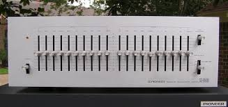 pioneer sg 9500 graphic equalizer