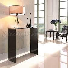 small glass console table black glass console table small glass console tables pinterest