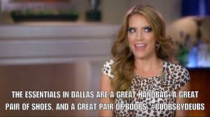 Boobs Meme - real housewives of dallas memes from episode 1 everything s bigger