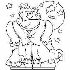 printable halloween coloring pages for kids in amusing paint