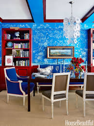 Red Dining Room Ideas Blue And Red Dining Room Blue Walls Black Dog Design Blog Best