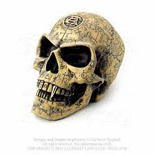 skull decor omega skull carved alchemist s skull decor alchemy v1