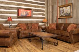 rustic living room furniture sets set with brown leather sofa and rustic living room furniture sets