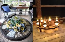 what to do with an wagon wheel decor garden home design and decorating
