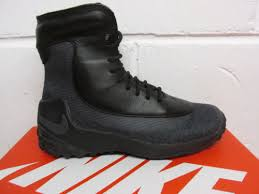 womens size 12 waterproof boots nike s zoom kynsi jcrd wp boots shoes size 12 black grey