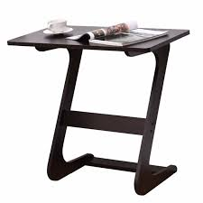 laptop computer end table goplus portable sofa table modern end side tables console snack tv