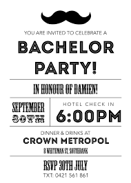 Invitation Party Card Bachelor Party Invite Neepic Com