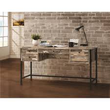coaster fine furniture writing desk coaster 801235 rustic style writing desk with drawers dunk