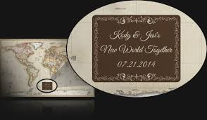 wedding gift map personalized maps great for customized family maps and gifts