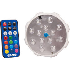 remote led color changing pool wall light walmart