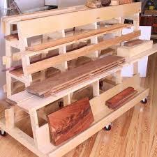 28 150496 lumber and sheet goods rack woodworking plan wood